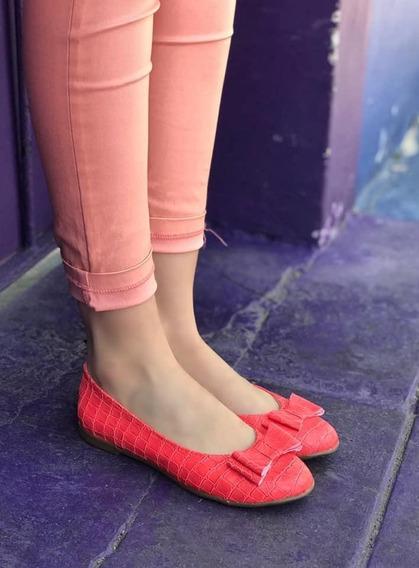 Alpargata Mujer Chatitas Ballerina Diseño Moño Envio Gratis