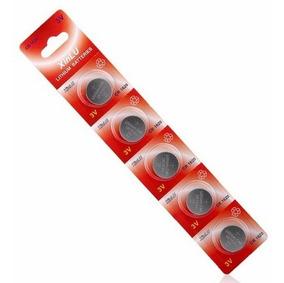 Bateria Cr1620 3v Lithium Pilha Cr-1620 Cartela 5 Unidades