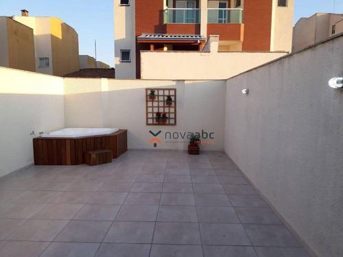 Imagem 1 de 13 de Cobertura Com 3 Dormitórios À Venda, 98 M² Por R$ 775.000 - Parque Das Nações - Santo André/sp - Co1308