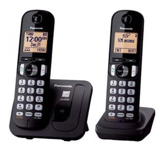 Telefonos Inalambricos Panasonic Pantalla Lcd Kx-tgc212meb