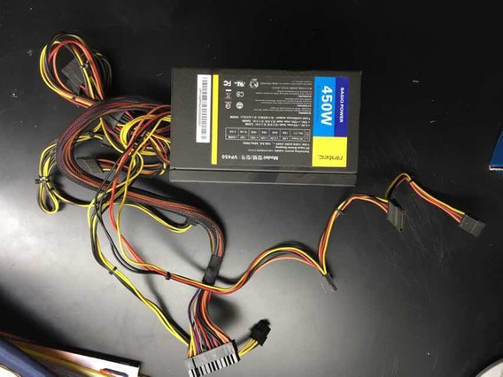 Com Defeito Fonte Antec 450w Real Basiq Power Vp450 Bivolt