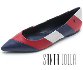 Sapatilha Santa Lolla New Navy Couro - 00da.1eff