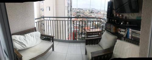 Apartamento Com 2 Dormitórios À Venda, 50 M² Por R$ 400.000,00 - Vila Antonieta - São Paulo/sp - Ap6229