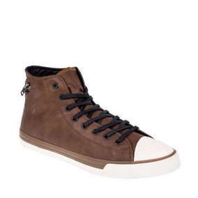 Tenis Casual Tipo Bota Cafe Ligero Goodyear Y02g Cab 826007