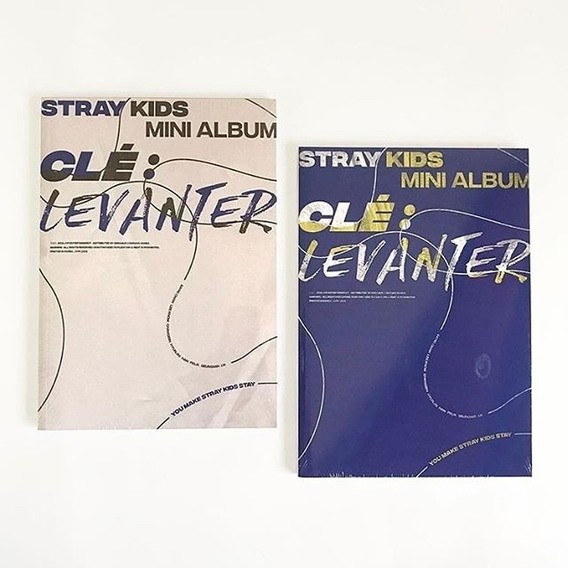 Stray Kids Cle Levanter Cd Nuevo Importado (vers Aleatoria)