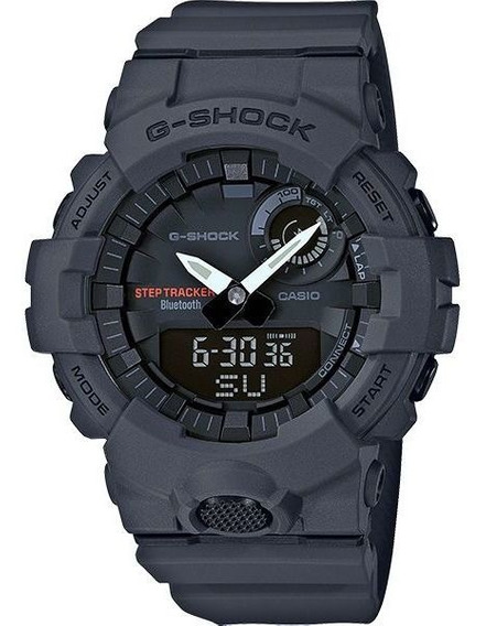 Relógio Casio G-shock G-squad Gba-800-8adr Passos Bluetooth