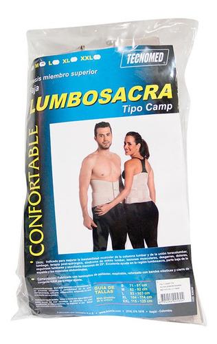 Faja Lumbo Sacra Tipo Camp Talla M.