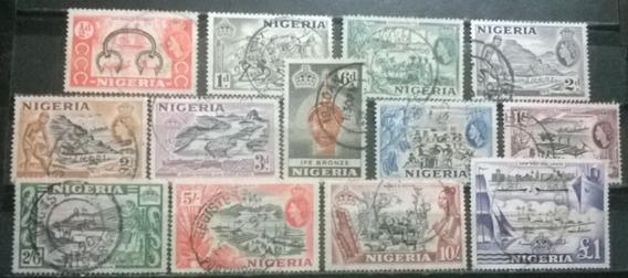 C@- Col Inglesas - Nigeria - Elizabeth Ii- Yv # 76/87