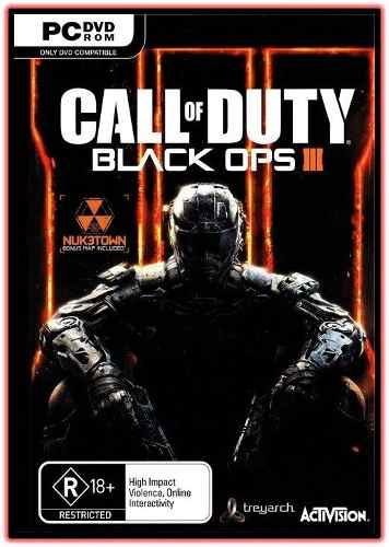 Call Of Duty Black Ops 3 Pc - Dublado (3 Dvd