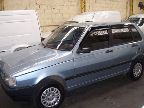 Fiat Uno 1994 1.0 4 Pts. Azul Eletronic Gasolina