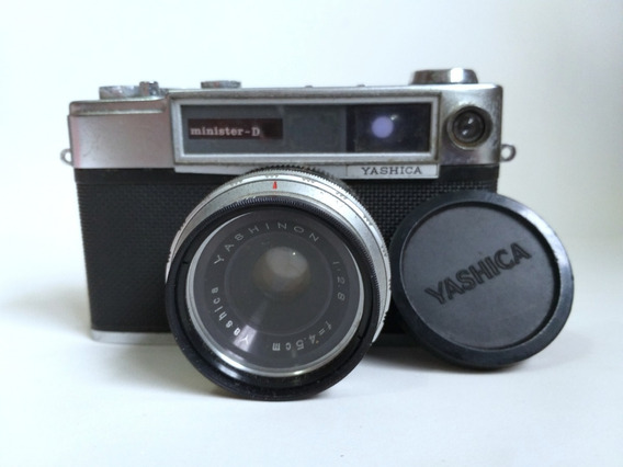 Máquina Câmara Fotográfica Antiga Yashica Minister-d