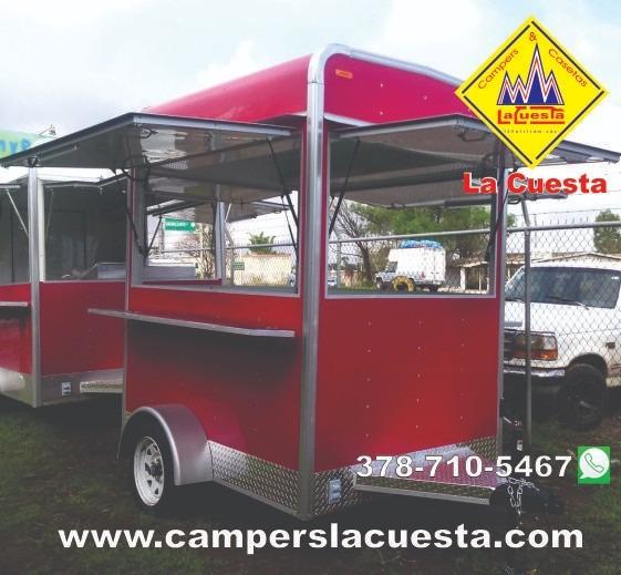 Fabrica Remolques Para Comida Oficina Consultorio Food Truck