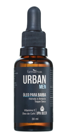 Farmaervas Urban Men - Óleo Para Barba 30ml Blz