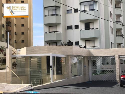 Apartamento Com 3 Dormitórios À Venda, 90 M² Por R$ 460.000,00 - Vila Rosália - Guarulhos/sp - Ap1115