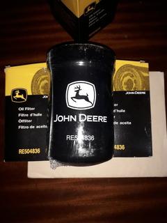 Filtro De Aceite John Deere Re504836