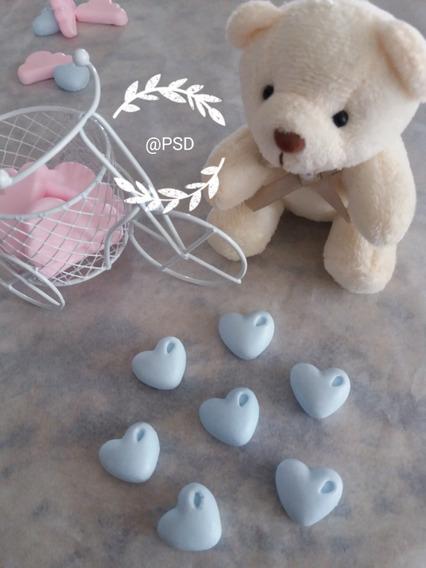 200 Mini Sabonetes Coração Perfumados Lembrancinha Batizado