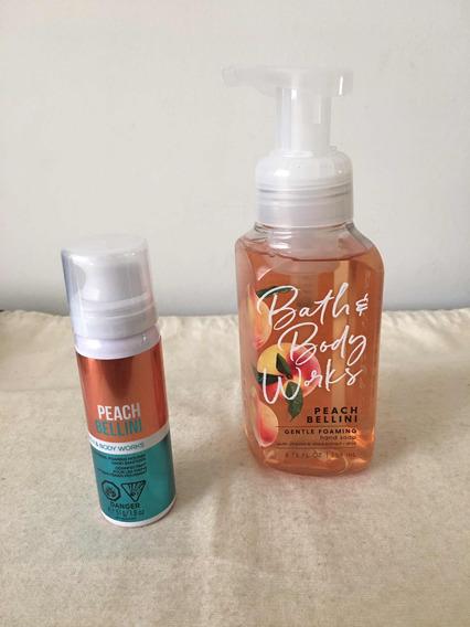 Sabonete Líquido E Gel Mãos Peach Bellini Bath & Body Works