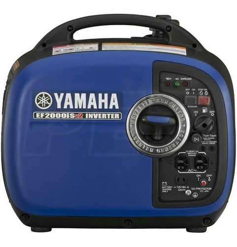 Yamaha Ef2000isv2 Planta Eléctrica Portatil Inverter 2000 Wa