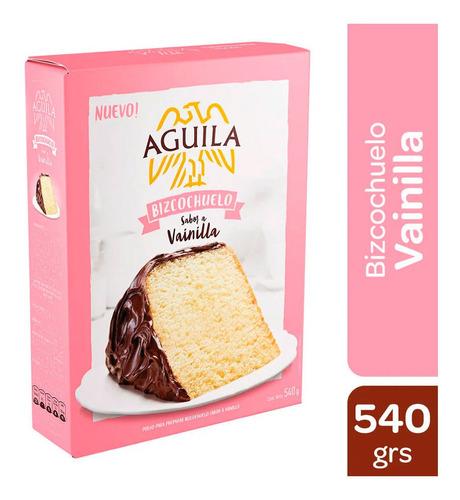 Bizcochuelo Aguila De Vainilla Pre Mezcla X 540 Gr