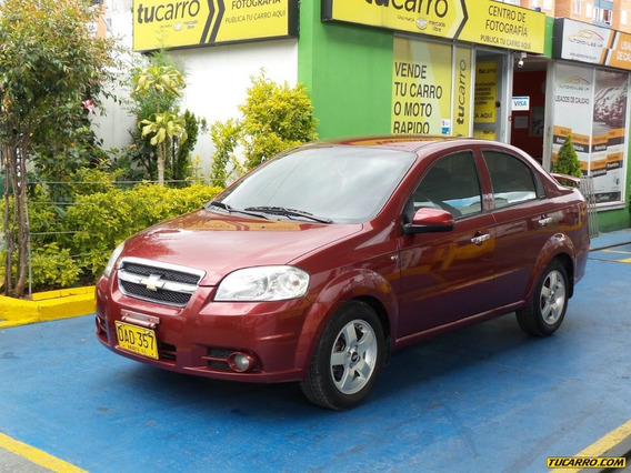 Chevrolet Aveo Emotion 2ab. Abs