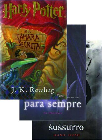 3 Livros - Hp Câmara Secreta / Sussurro / Para Sempre