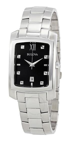 Relógio Bulova Diamond Masculino 96d125