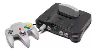 Nintendo 64 + Controle Original + Fonte + Av + Jogo Brinde