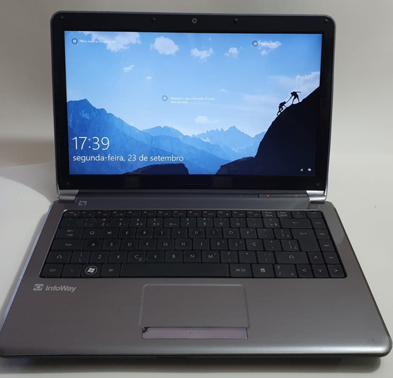 Notebook Itautec W7430 Proce I5 /6gb De Memoria Hd 750gb