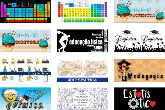 Estampas Canecas Dia Dos Professores Artes + Mockups