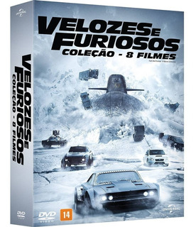 Dvd Velozes E Furiosos Coleção 8 Filmes - Melhor Preço