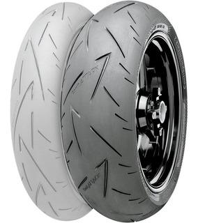 Continental 200/55 Zr17 78w Sport Attack 2 Rider One Tires
