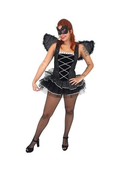 Fantasia Bailarina Cisne Negro Adulto