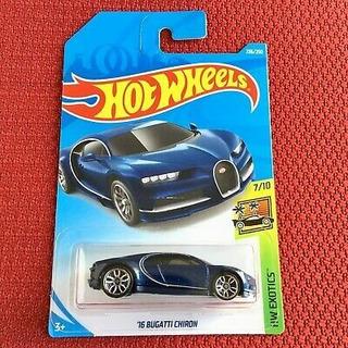 Hot Wheels Bugatti Chiron 2016