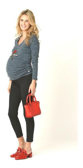 Calza Elastizada Para Embarazadas - Diseño Urbano -