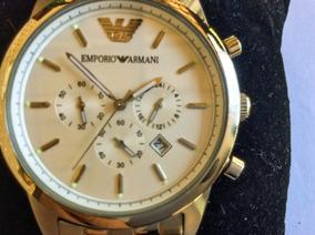 Lindão Relógio Emporio Armani, 40 Mm, Quartz,deployant