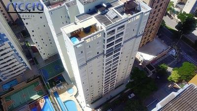 Lindo Apartamento Ed. Paloma Jd Aquarius 127m² 4 Dormitórios - 12444
