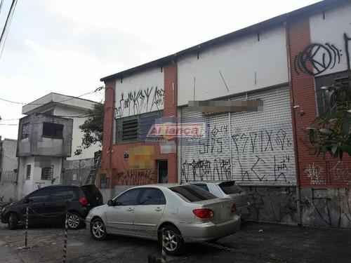 Galpão - Centro De Guarulhos- Excelente Para Construtores - Ai5928