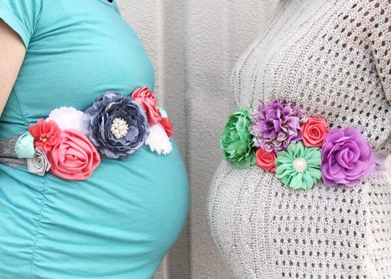 Sash Maternity Mama Baby Shower Cinturon Detalles Unicos