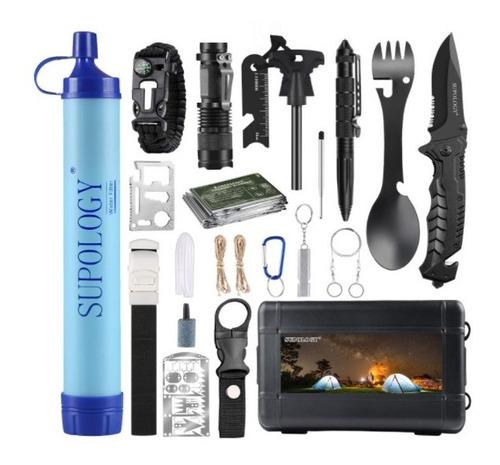 Kit De Supervivencia 23 En 1 Solo Para Aventureros