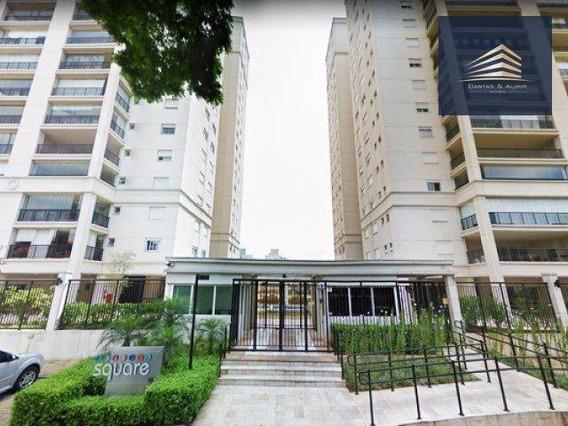 Apartamento No Condomínio Square, 109m², 3 Dormitórios, 1 Suíte, 2 Vagas, Andar Mediano. - Ap0780