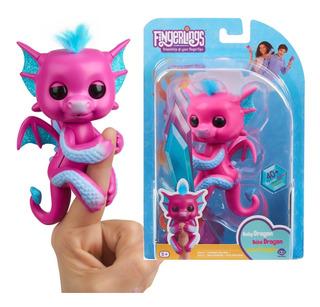 Fingerlings Dragon Bebe Sandy Interactivo Con Envío