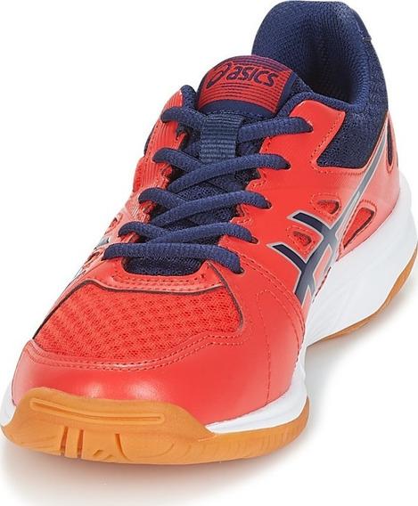 Tenis Asics Upcourt 3 Rojo Voleibol Handball Tenis Gym