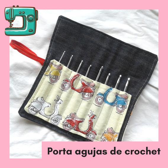 Porta Agujas De Crochet - Estuche - Agujas Crochet