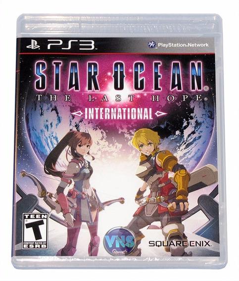 Star Ocean The Last Hope International - Ps3 - Lacrado!