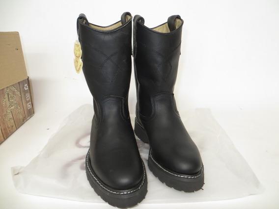 Botas Roper Negra Tom Boots