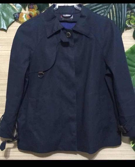 Trench Coat Jacket Curto Prada Original Emborrachado