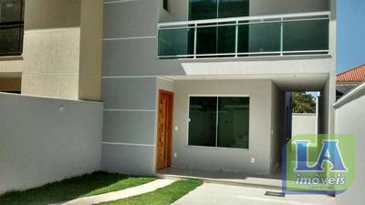 R$ 590.000,00 Casa Primeira Locação 3 Quartos Suíte Acabamento De Primeira, Piratininga, Niterói. - Ca1084
