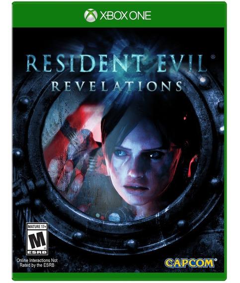 Jogo Resident Evil Revelations Xbox One Disco Fisico Lacrado