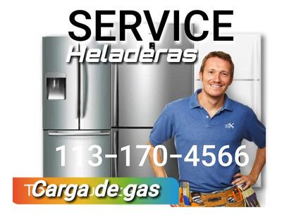Heladera Carga Gas Service Reparacion A Domicilio Fuga