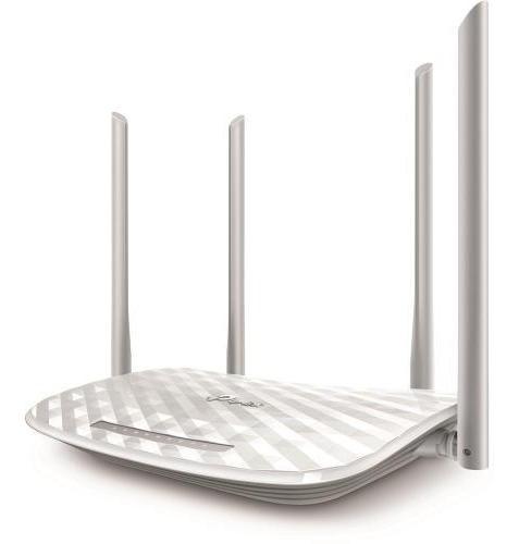 Roteador Wireless Tplink Archer C50v2 1200mbps 4a Branco - T